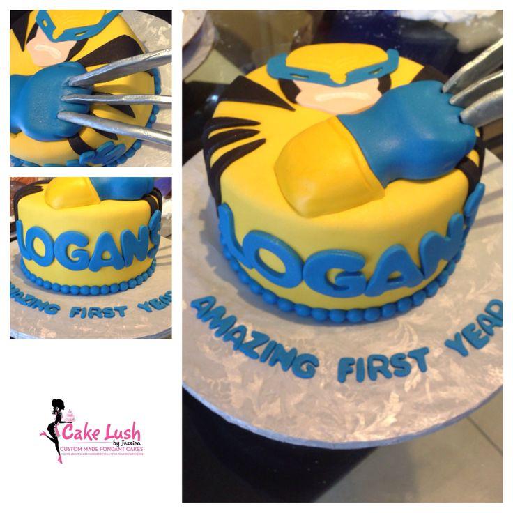 Wolverine Cake www.cakelushbyjessica.com