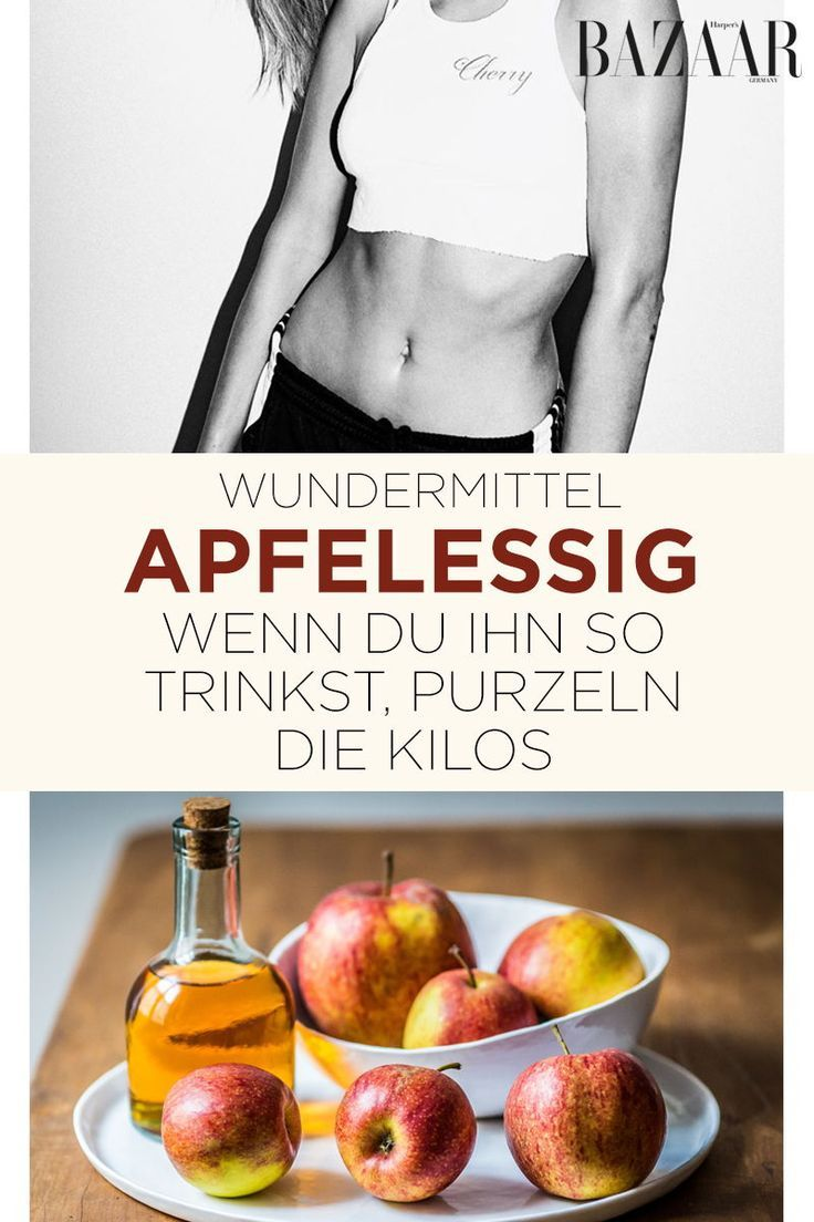 Lose weight with apple cider vinegar: That's how it works