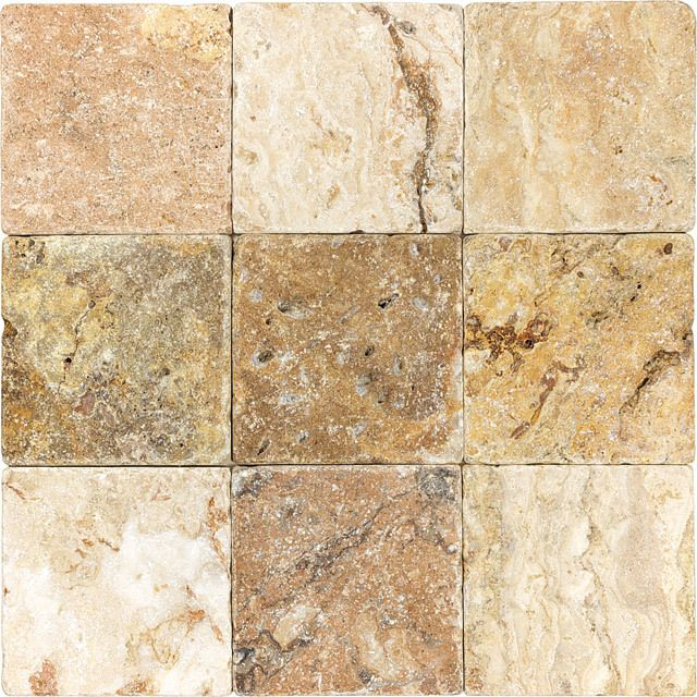 discount glass tile store tumbled travertine scabos 4x4 425 http