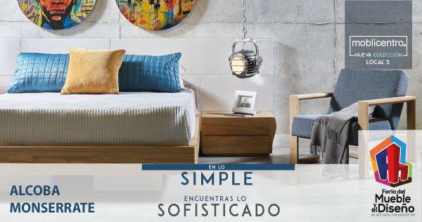 ¡Confort para un #descanso placentero y verdadero! Con Moblicentro encuentras sofisticación para tu #hogar