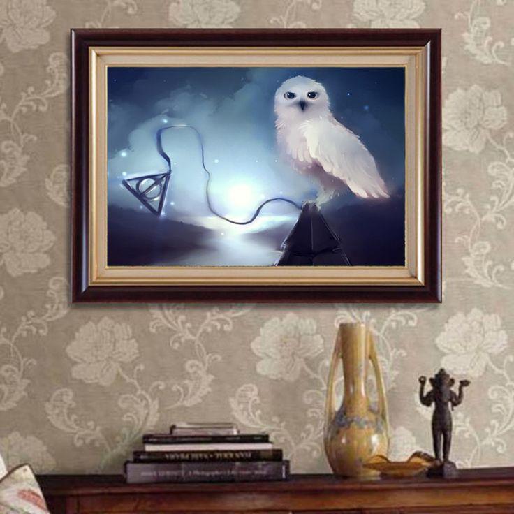 БО Новое прибытие алмаз вышивка сова гарри поттер Дары смерти картина алмазов мозаика 5D сделай сам алмаз живопись вышивки крестом
