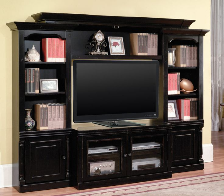 High Quality Library Inspiration Premier Avelino 4 Piece Wall Unit   Parker House