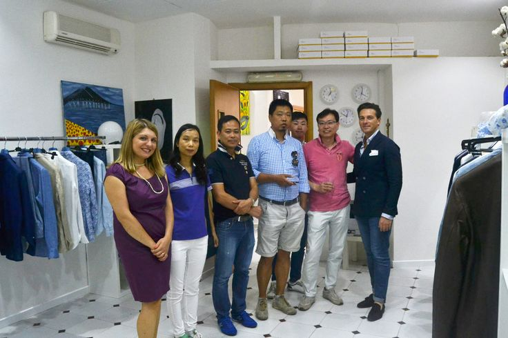 """Chinese partners in my headquarters for new """"Spring Summer 2015"""" collection"""