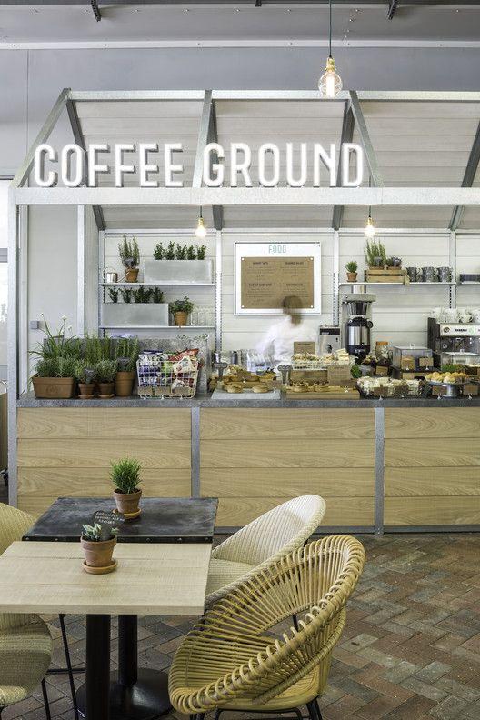 2015 Restaurant & Bar Design Award Winners Announced,Coffee Ground; United Kingdom / Kiwi & Pom. Image Courtesy of The Restaurant & Bar Design Awards