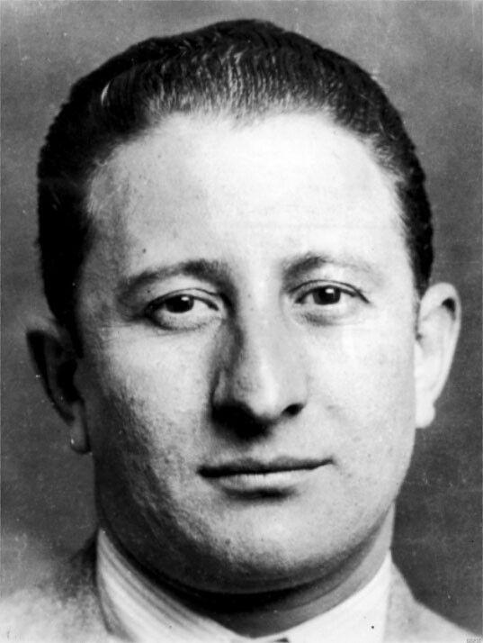 Don Carlo Gambino Mugshot Mobster