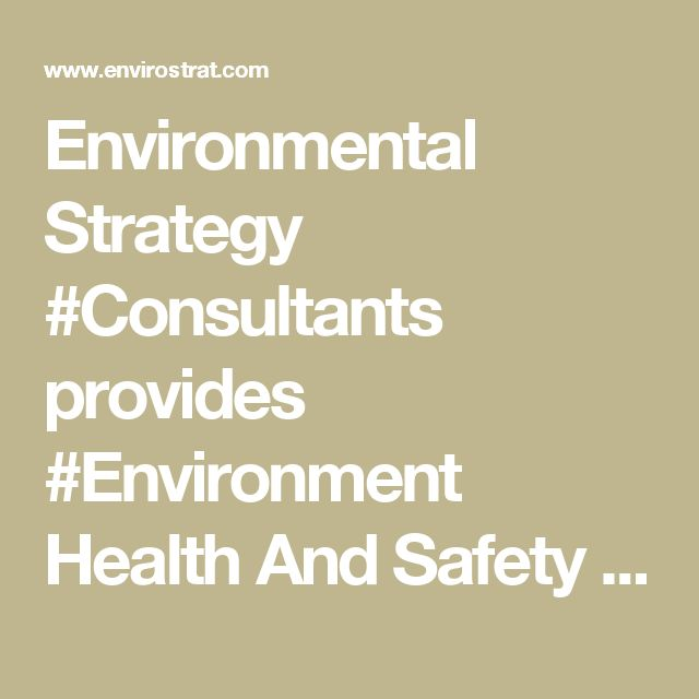 Environmental Strategy #Consultants provides #Environment Health And Safety #Engineering for the positive outcomes of the company and the employee.We aim at customer's #satisfaction.