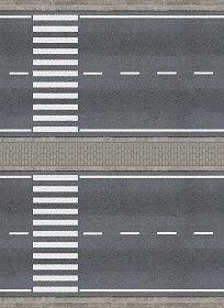 Textures Texture seamless | Road texture seamless 07612 | Textures - ARCHITECTURE - ROADS - Roads | Sketchuptexture