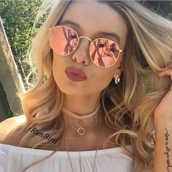 Luxury Round Sunglasses Women Men Brand Designer Vintage Retro Mirror Sun Glasses For Women Ladies Sunglass oculos de sol R096 #CLICK! #clothing, #shoes, #jewelry, #women, #men, #hats, #watches