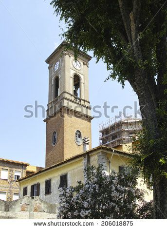 livorno a very beautiful town in italy - stock photo