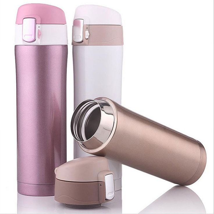 500ml Home Kitchen Thermoses Stainless Steel Insulated Thermos Cup Coffee Mug Travel Drink Bottle Garrafa Termica Thermo Mug