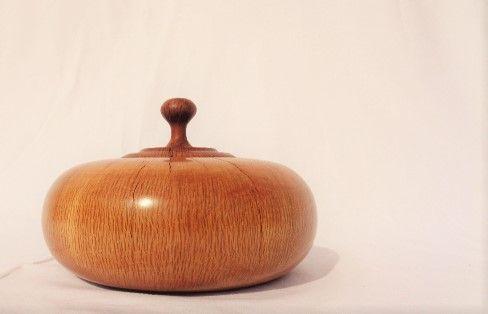 Caixa em madeira de Azinheira