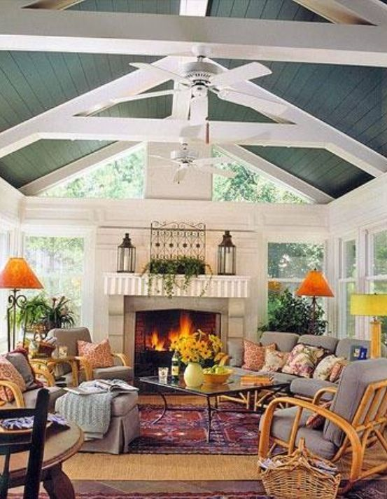 63 best Great Rooms with Vaulted Ceilings images on ...