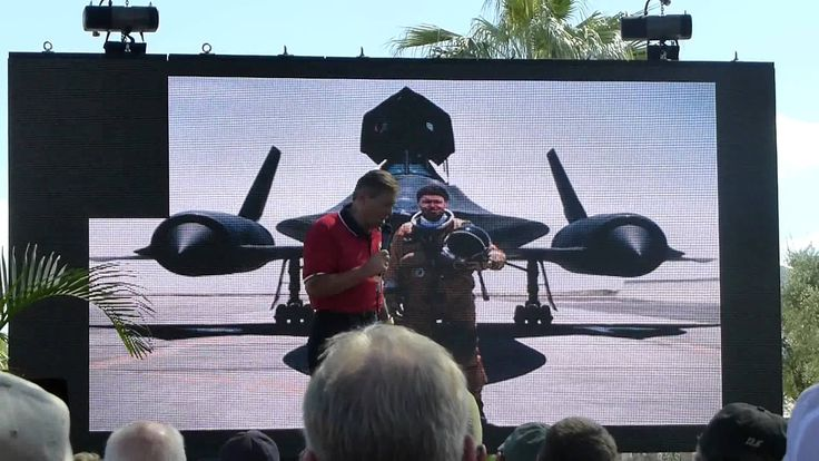 Brian Shul, one of the few SR71 pilots, telling the LA Center speed story