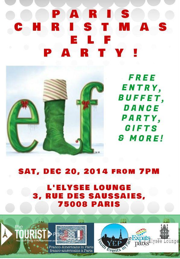 #Paris #Elf #Party #2014