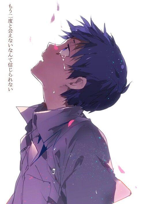 #Sad_anime_boy   anime# boys   Pinterest