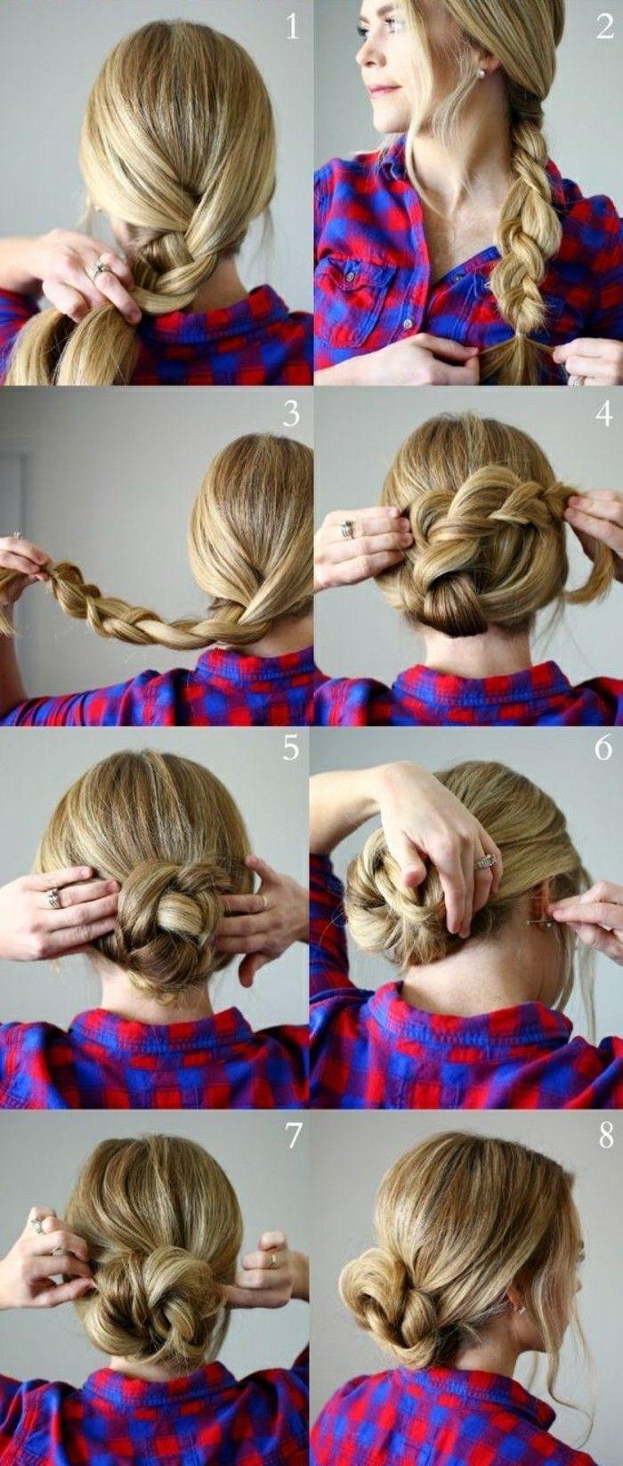 Hochsteckfrisuren selber machen: 58 Anleitungen für effektvolle Frisuren – Arch…