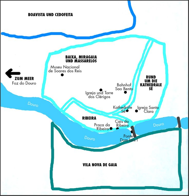 Porto Karte