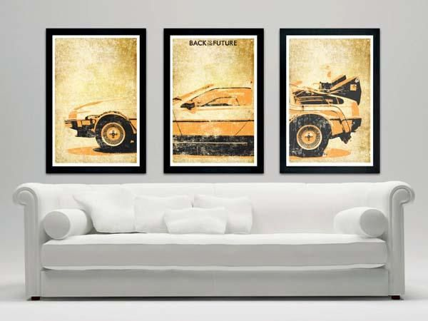 Back to the Future Movie Poster Set
