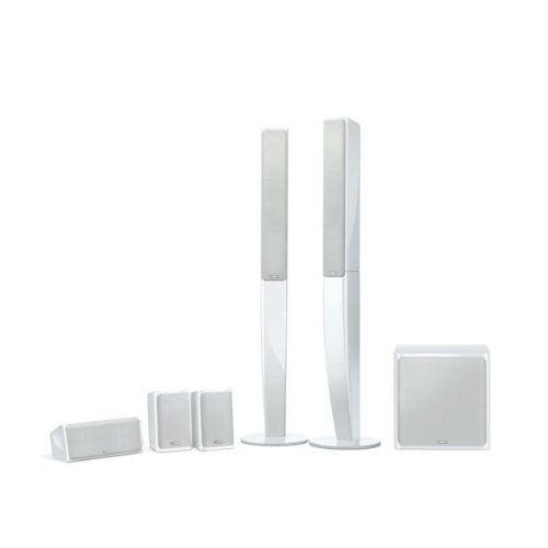 Yamaha NSPA40WH 51 Speaker Package White Set of 6 -- You can find out more details at the link of the image.