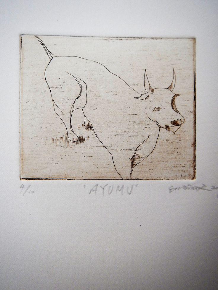 Ayumu / Engraving 2014