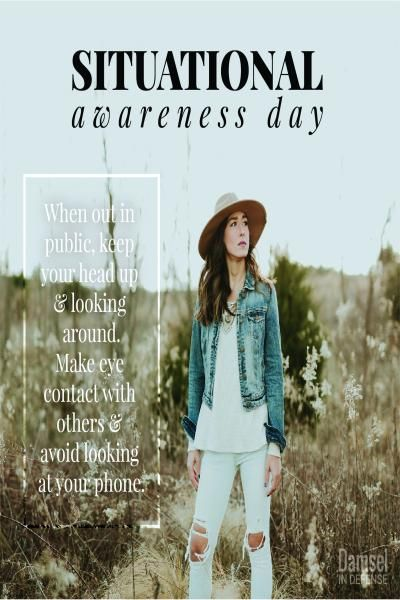 Situational Awareness Day | Damsel in Defense