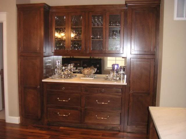 This Built In Hutch Would Look Great In A Dinning Room And Would Be Lovely