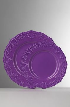 Passion for Purple - and I've noticed how popular purple is in the kitchen now....dishes, pots/pans, utensils, even appliances & bakeware, etc.