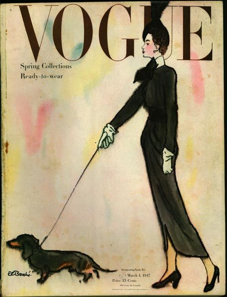 Vogue - illustrated by Rene Bouche