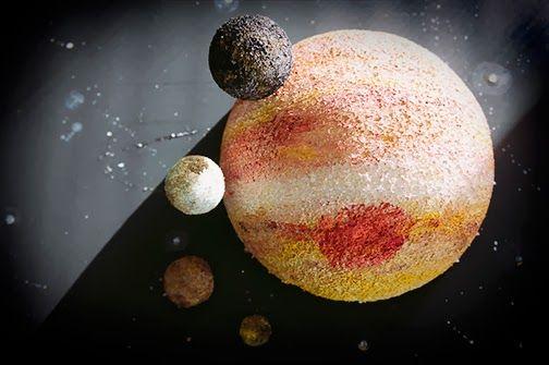 planet jupiter sytrofoam model - photo #6