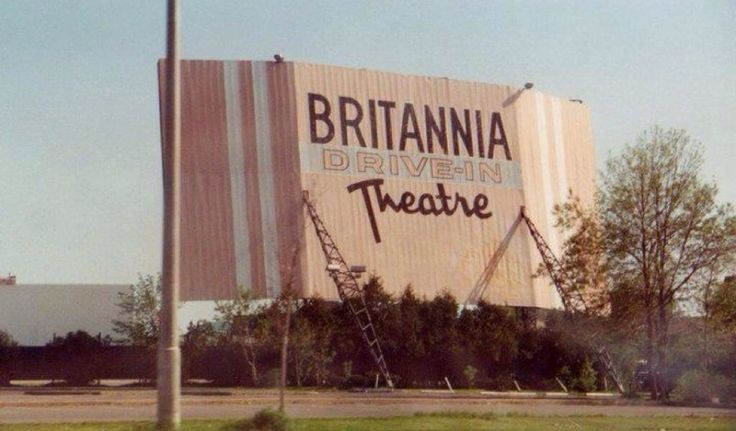 Britannia Drive-In, been there many times before it closed