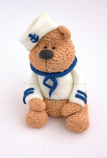Robert Teddy Cake Artist : 17 Best images about Fondant Teddy Bear Project on ...
