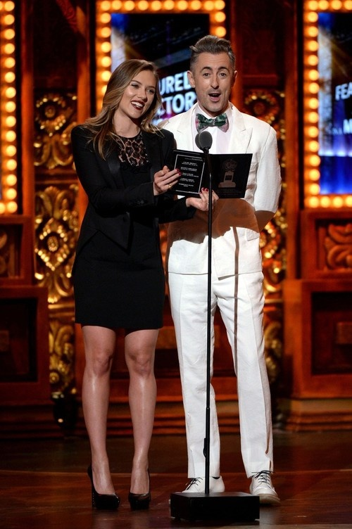 Scarlett Johansson at 67th Annual Tony Awards in NYC on June 9, 2013