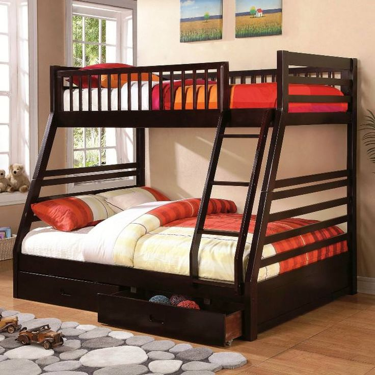 Best 25 Full Size Bunk Beds Ideas On Pinterest With Mattresses Loft And Bed Rooms
