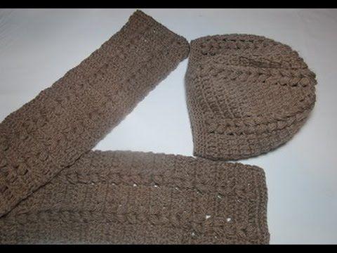 (67) Uncinetto crochet sciarpa tutorial - YouTube | video tutorial | Pinterest