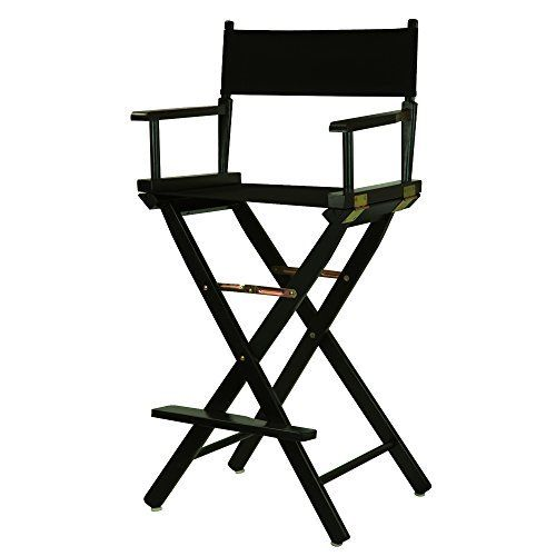 Discover a variety of uses for this classic-style Director's Chair. Constructed with 100% solid wood, this portable Director's Chair is built for lasting strength. Remove the footrest and the foldable design makes transportation a breeze–meaning you can move it from room to room or t... more details available at https://furniture.bestselleroutlets.com/game-recreation-room-furniture/directors-chairs/product-review-for-casual-home-30-directors-chair-black-frame-wit