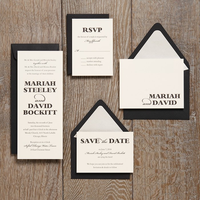 Wedding Invitation Ideas Paper Source 34