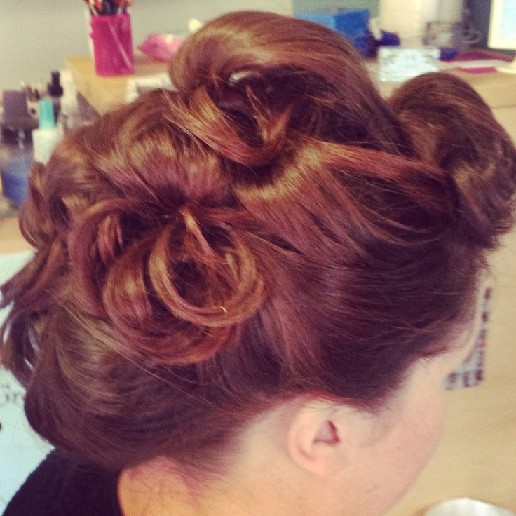#wedding #hair by Jude #upstyle #vintage