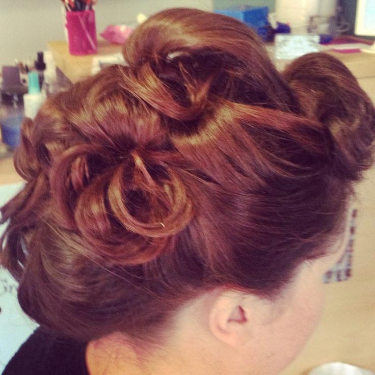 #wedding #hair by Jude #upstyle #vintage
