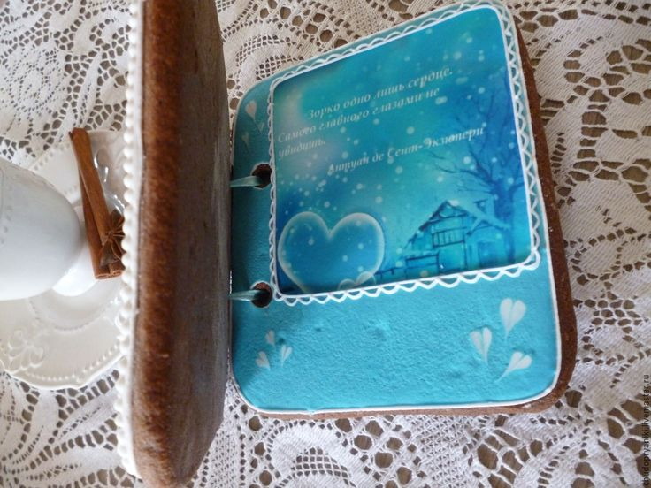 Купить Пряничная открытка. С нежностью. - имбирные пряники, новогодний подарок, оригинальный подарок