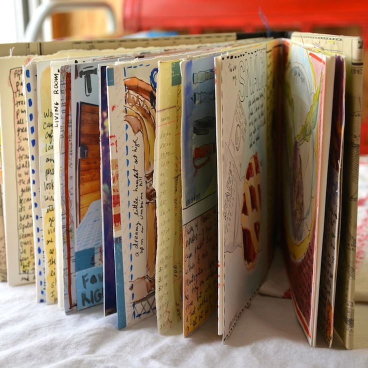 Umbria sketchbook travel journal.1