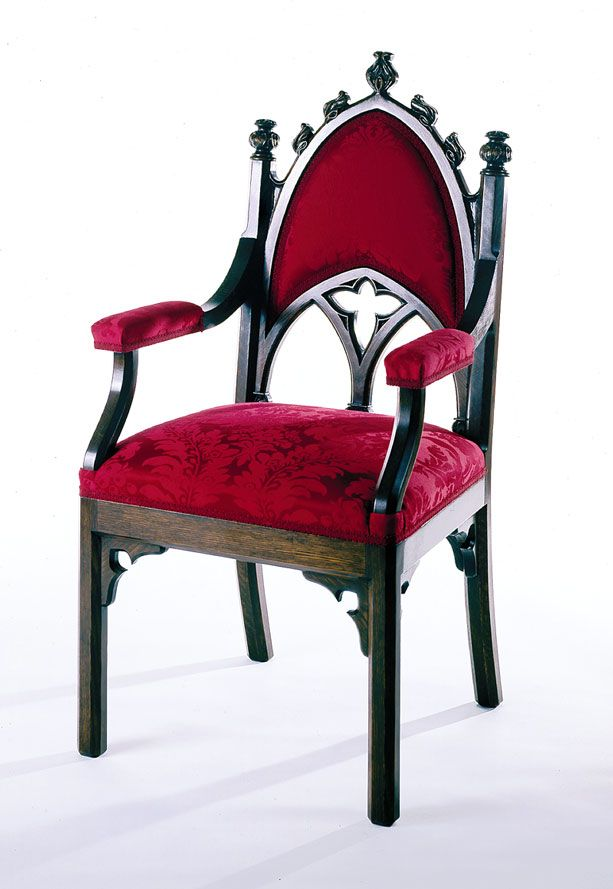 Gothic Arm Chair I   Ralston Reproduction