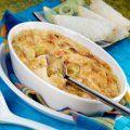 Un+rico+acompañamiento+para+carnes+y+aves+de+alcachofas+y+papas+gratinadas+y+preparadas+con+un+toque+de+queso+Parmesano+y+pan+molido.+¡Muy+rico!