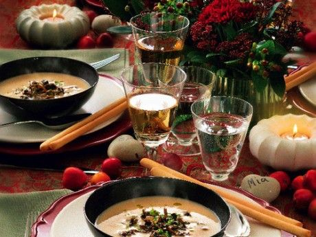 Svampsoppa med rotfrukter och smak av tryffel – Allt om Mat