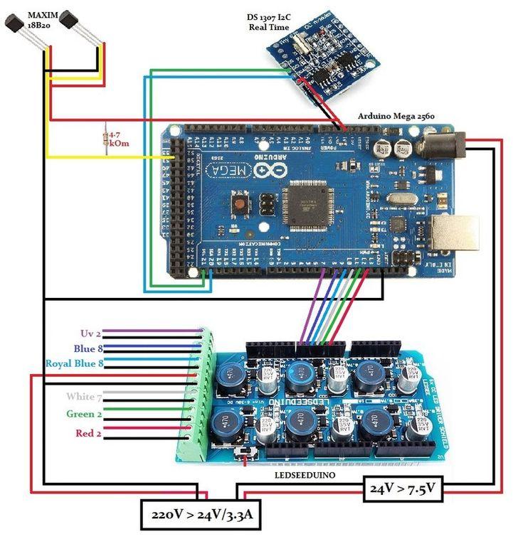 Хочу сделать LED светильник на базе Arduino с нуля. - Страница 7 - Аквафорум - форум аквариумистов и террариумистов