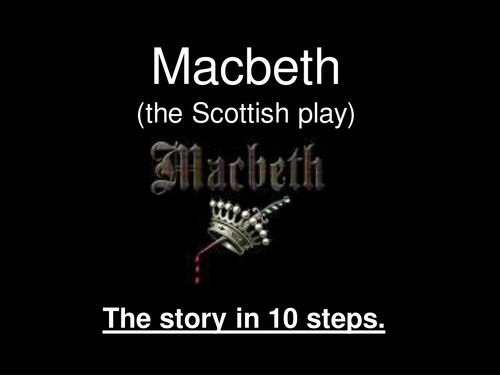 plot summary of macbeth For brave macbeth--well he deserves that name-- disdaining fortune  all hail,  macbeth, hail to thee, thane of cawdor  a woman's story at a winter's fire.