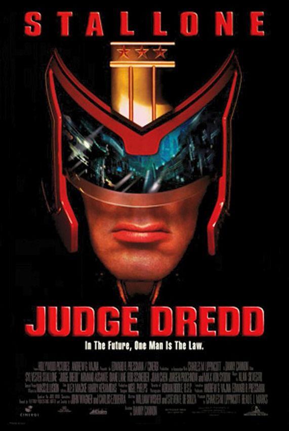 TriStar Pictures Movie Posters   Judge-dredd-movie-poster-1995-1020256541