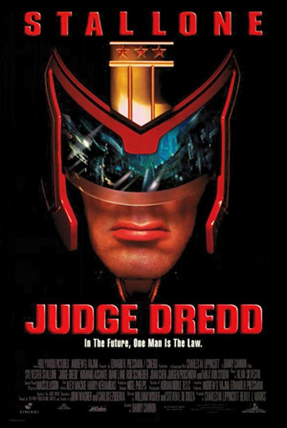 TriStar Pictures Movie Posters | Judge-dredd-movie-poster-1995-1020256541