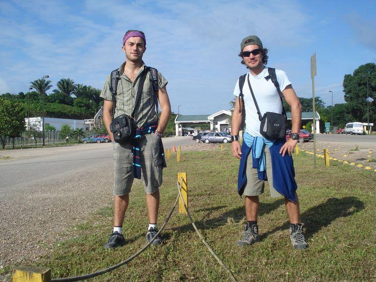 Alla frontiera con il Belize