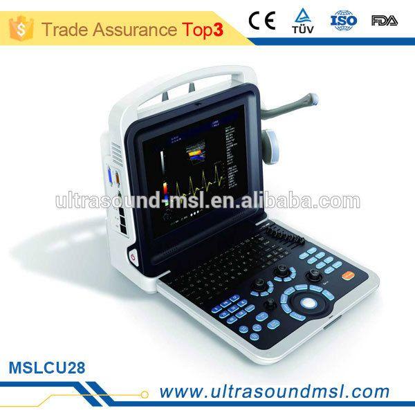 MSLCU28Z Cardiac Portable Color Doppler Ultrasound Machine Price Medical 2D 3D 4D Echocardiography Ecografo USD Echo Machine