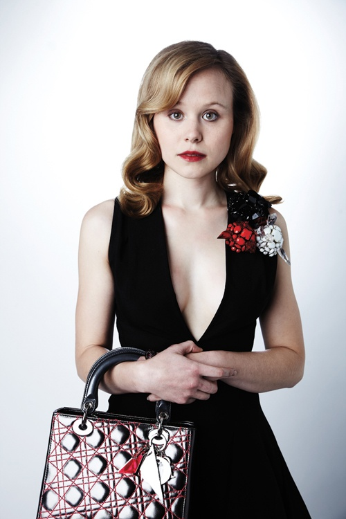 Alison Pill....THIS IS SO UN-MAGGIE!